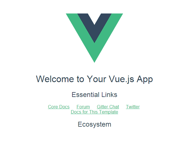 VUE配置成功后浏览器截图.png